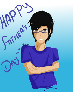 Happy Father's Day by Anne-MLP