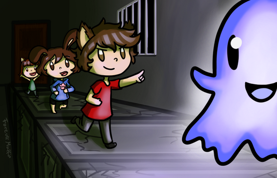 Ghost Chase!!! - VIDEOGAME by ForeverMuffin