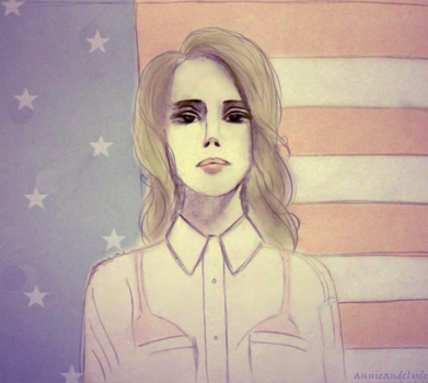 Lana for president by ferretina