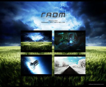 The Radm Wallpaper pack. by Uribaani