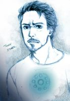 Tony Stark by zer03908