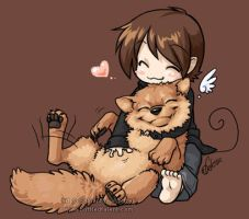 Belly rubs are love by celesse