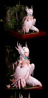 Swan collage by sivousplay