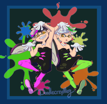 Squid Sisters by doodlecrzyMeg