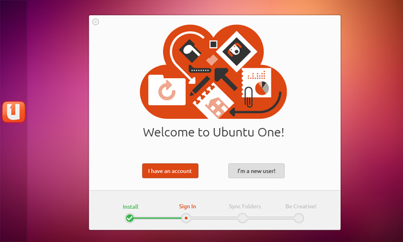 Mockup: Ubuntu One by 0rAX0