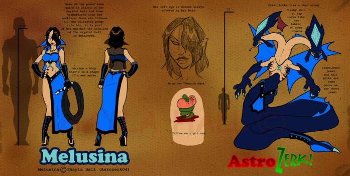 Melusina concept by AstroZerk