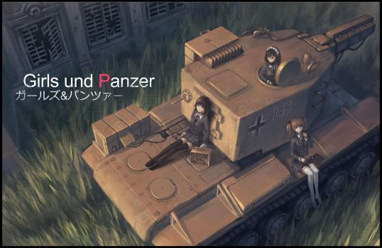 Girls and Panzer by ProgV