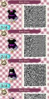 Bow Dress QR Code by blackdemondragon13