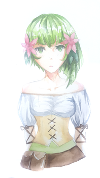 Watercolor Gracie by Sontancer
