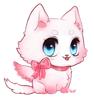 OMG - chibi commission by clover-teapot