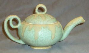 frosted 2 tea pot by cl2007