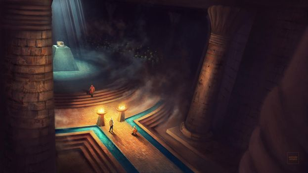 Chamber - Ancient Civilizations - Lost and Found by WillFx
