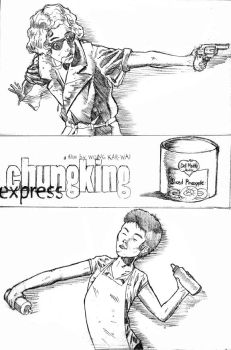 Chungking Express by badworldvessel