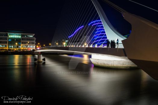 Dublin: Samuel Beckett's Bridge by OttoMarzo