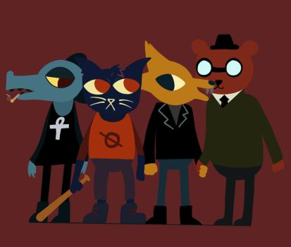 Night in the woods by Stoned-bees-m8