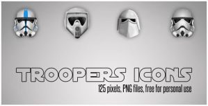 Star Wars Troopers - 125px by canha