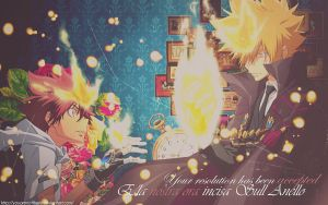 Vongola Primo and Decimo by Youarenotthere