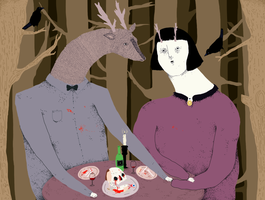 deer date by wolfship