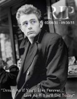 R.I.P. James Byron Dean by darkjamesdean