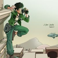 J for Jade by Pehesse