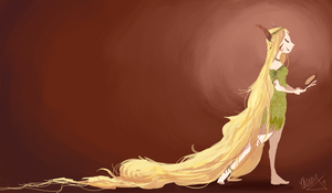 Rapunzel by lalitterboxes