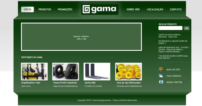 Gama Equipamentos 2nd Attempt by tecsoft