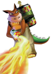dingodile1 by Berry-the-racoon