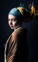 Girl with a pearl earring by Argiel