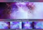 #13 Texture Pack (900x600) - Midnight Dream by Ainhel