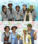 Leif and Thorn - Team and Family by ErinPtah