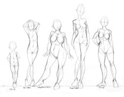 Body Shapes - Practice by tabbykat
