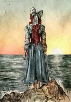 ::the sound of the sea:: by kacey-lynn