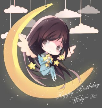 Happy Birthday Widy by SawiTart