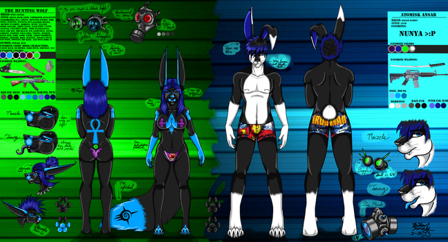 Hunting And Atomisk Ref 2013 by TheHuntingWolf