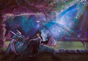Angel And Dragon Story by annemaria48