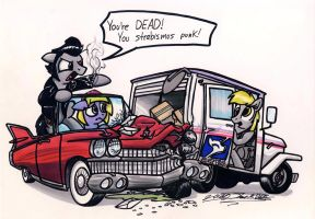 Going Postal by Sketchywolf-13