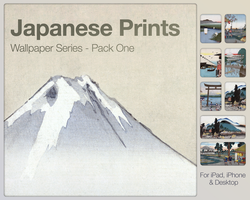 Japanese Prints Pack One by city17