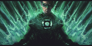 Green lantern by Sebiss