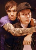 Pete and Patrick...again by Drea29