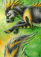 ACEO for RatRabbit by Dragarta