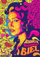 Jessica Psychedelic Biel by roberlan
