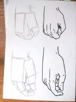 How to draw hands by Benulis