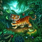 Cover for Tiger Stripes by feliciacano