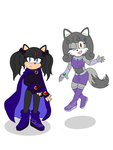 Yara and Brisa cosplaying the Teen Titans girls! by Brisa-The-Fox