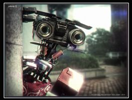 Johnny-5 by ksn-art