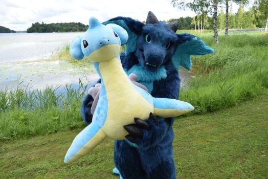 Finfur Animus 2017: Look at this Lapras everyone! by cynderfan35