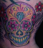 sugar skull 2 by mojoncio