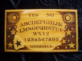 Traditional Ouija by WOODEWYTCH