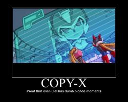 Copy-X Poster by 0megaZero