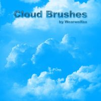 Cloud Brushes by Wearwolfaa